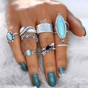 Ring SETS! All Different Styles 8pcs BOHO Vintage